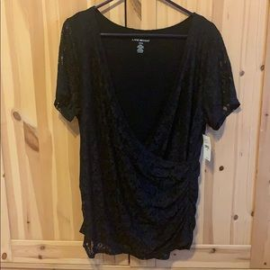Lane Bryant black top 14/16